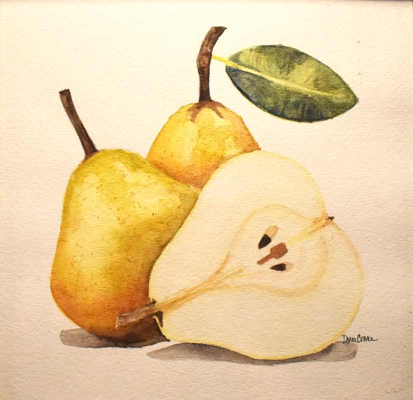 Home Decor - Fruit Painting